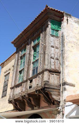 Turkish Balcony Architecture