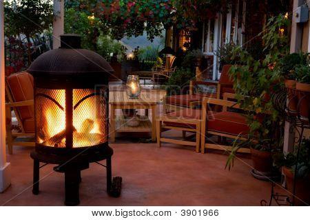 Summer Fireside Living