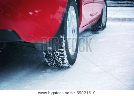 Winter tyres. Element of design.