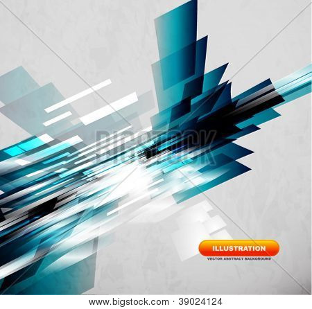 Flowing lines abstract vector background
