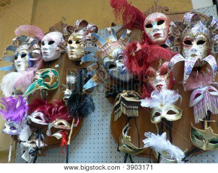 Masks At Isola Bella