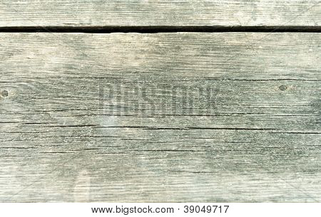 Old weather beaten wooden planks