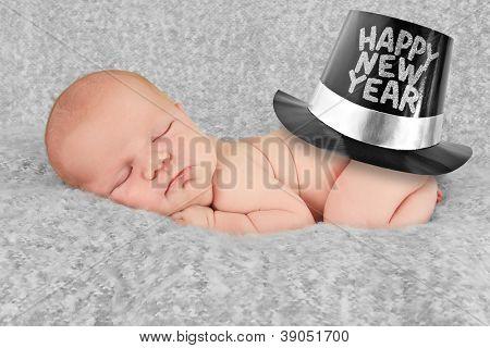 Feliz año nuevo baby boy
