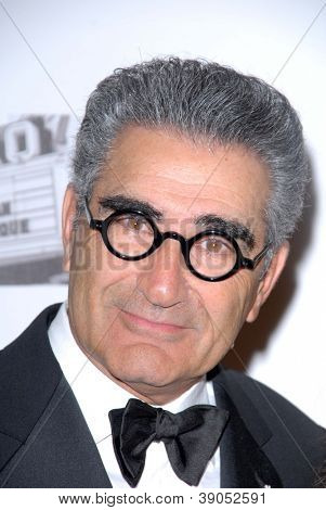 LOS ANGELES - NOV 15:  Eugene Levy arrives for the 26th American Cinematheque Award Honoring Ben Stiller at Beverly Hilton Hotel on November 15, 2012 in Beverly Hills, CA