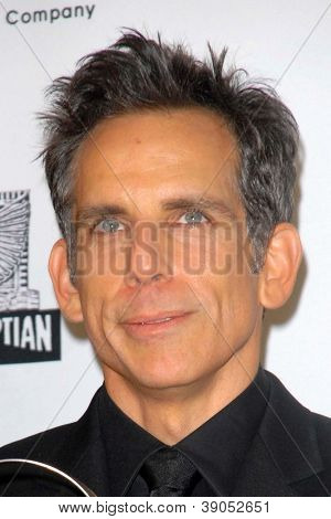 LOS ANGELES - NOV 15:  Ben Stiller in the press room of the 26th American Cinematheque Award Honoring Ben Stiller at Beverly Hilton Hotel on November 15, 2012 in Beverly Hills, CA