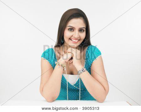 Young Beautiful Asian Woman