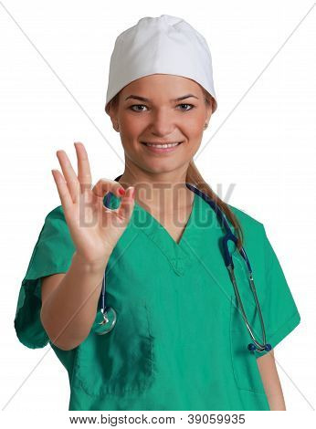 Young Woman Doctor