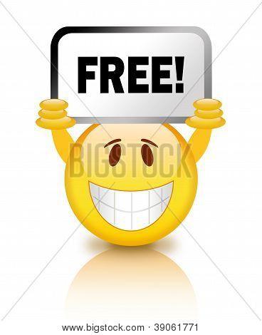 Free emoticon
