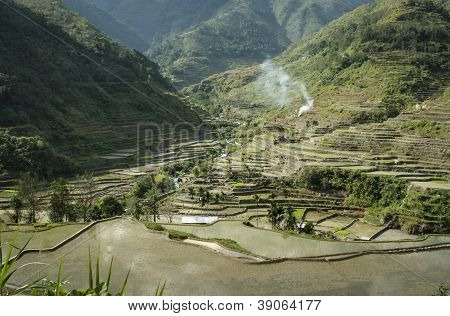 Rice Terraces Banaue Luzon Philippines