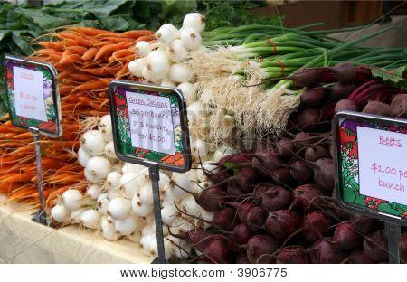 Produce At The Farmers Market