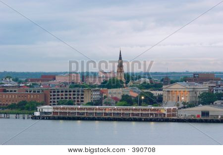 Charleston South Carolina Waterfront