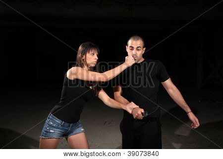 Martial Arts Female Instructor