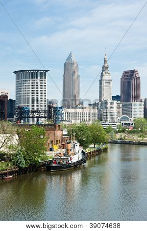 Tugboat And Skyline