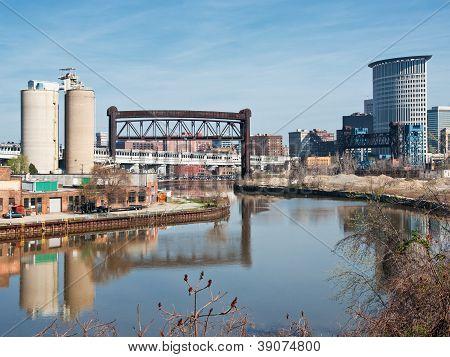 Escena del río Cuyahoga