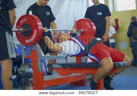 Competitions on powerlifting