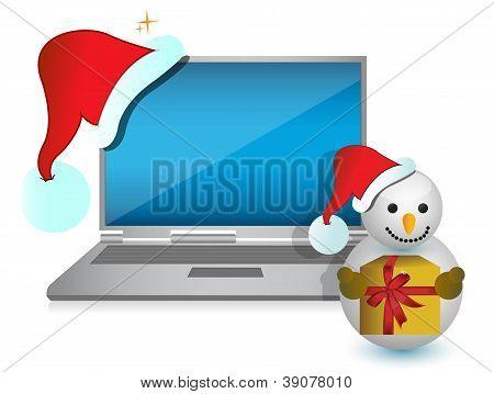 Weihnachten-Technologie vorhanden