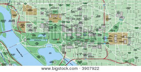 Washington dc Map Pdf in Washington dc Map