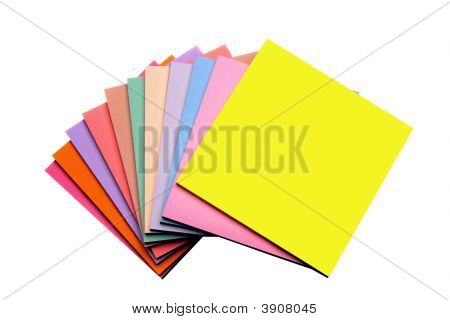 Sticky Notes Fanned