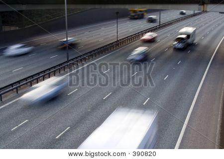 Tráfico de la autopista