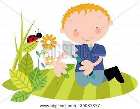 Male Gardener