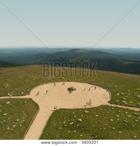 Brocken, Highest Mountain In Northern Germany