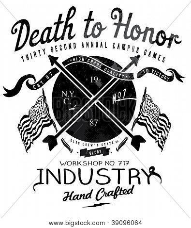 hanmade illustration vector  emblem label sketch for apparel 2