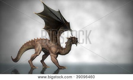 walking dragon