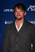 LOS ANGELES - NOV 11:  Zachary Knighton arrives at the Life Rolls On Foundation's 9th Annual Night B