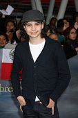 LOS ANGELES - NOV 12:  Max Burkholder arrive to the 'The Twilight Saga: Breaking Dawn - Part 2