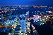 pic of minato  - Skyline of Yokohama - JPG
