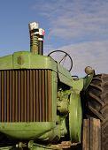 Antique Diesel Tractor
