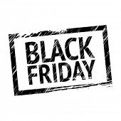 foto of tariff  - Black Friday Stamp - JPG