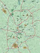 Greater Atlanta Area Map