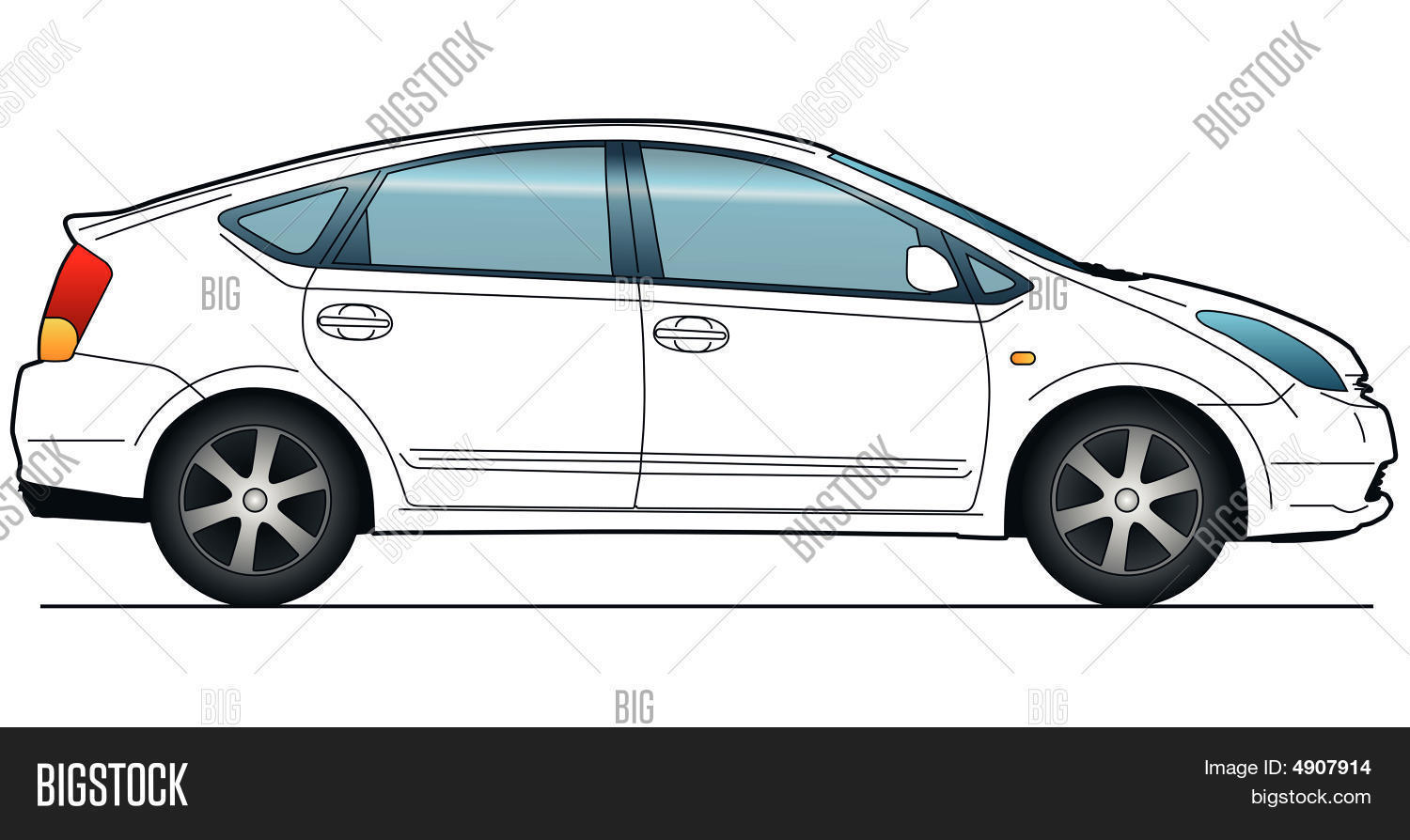 Car side view images illustrations vectors car side view stock city car template pronofoot35fo Choice Image