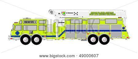 Super Squad Airport Rescue Fire Truck