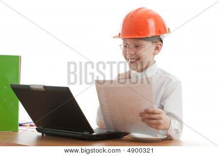 Teenager In Helmet Verify Home Plan