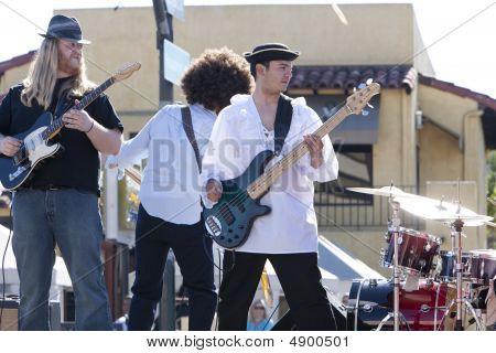 Doo Dah Parade Band On Truck