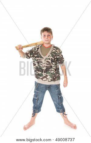 Boy With The Bat