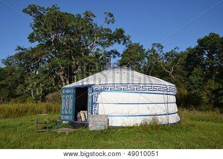 Yurt - a mongolian ger
