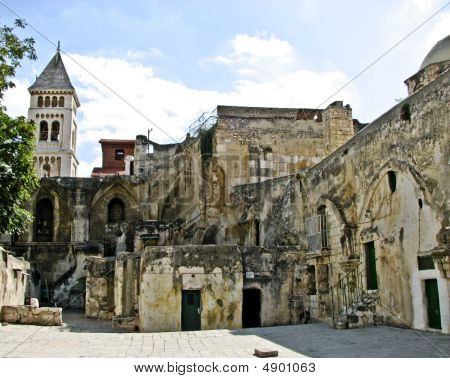 On The Roof Of Holy Sepulchre