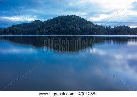 Dusk At Cascade Lake
