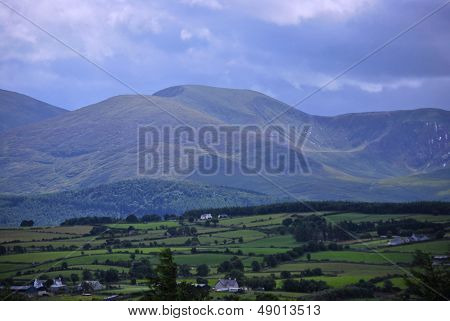 Slieve Commedagh in the Mourne Mountains