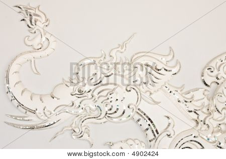 Fairy Tale Animal In Traditional Thai Style Molding Art