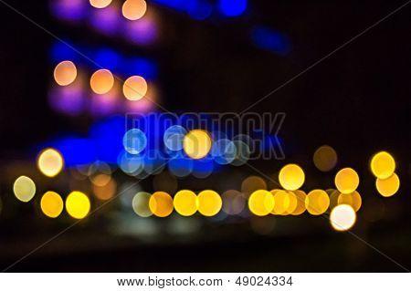 Abstract Lightson Carpark