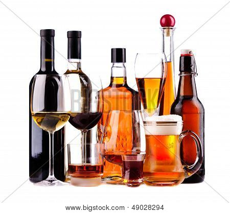 Different Alcoholic Drinks