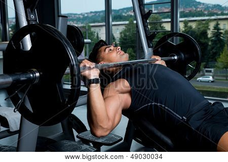 Bench Press Exercise