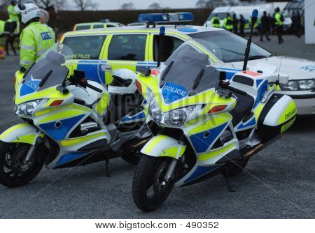 Police Motorcycles 1