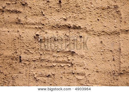 Plaster On Wall