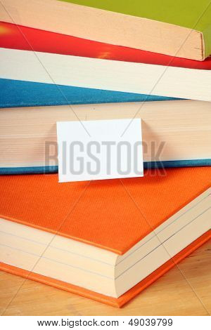 Books and Bookmark