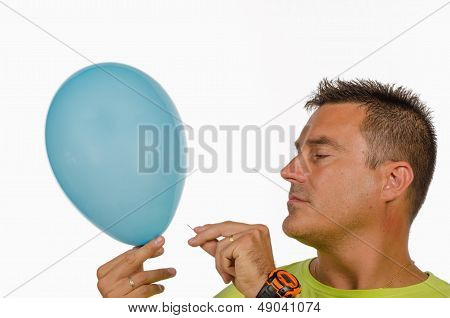 Puncturing A Balloon